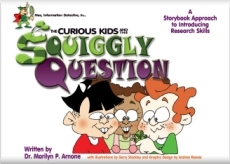 Book cover for The Curious Kids and the Squiggly Question